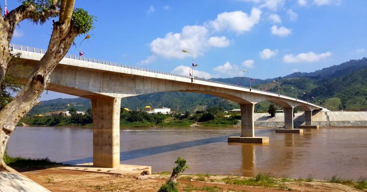 Thai-Lao Friendship Bridge at Chiang Kong
