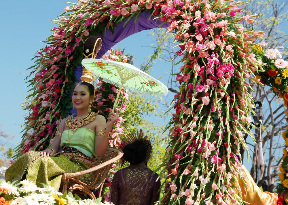 Miss Chiang Mai Flower Festival Beauty Queen