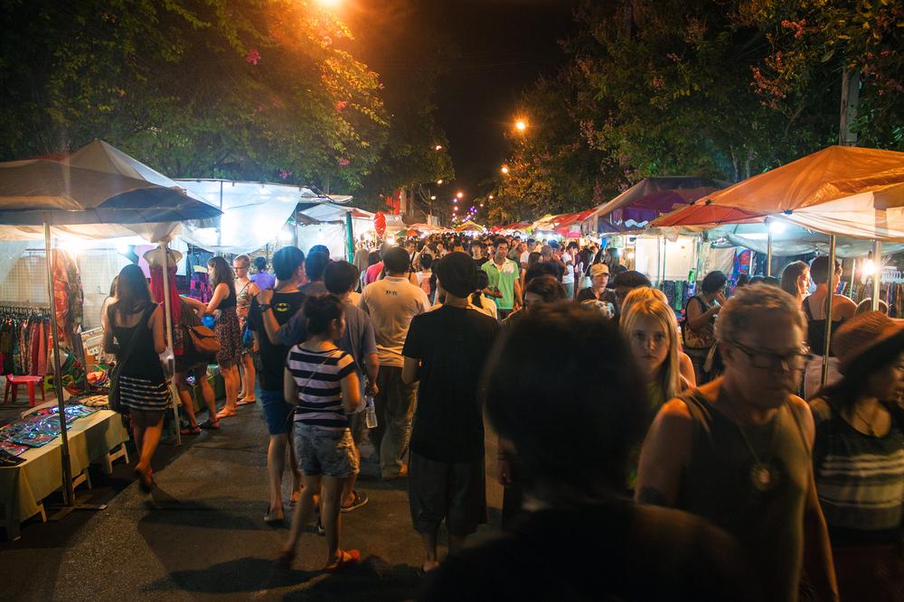 Chiang Mai Sunday Walking Street Market