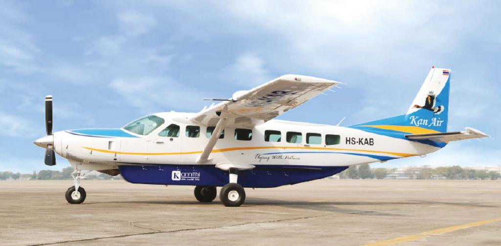 Kan Air Cesna Grand Caravan 12 passenger seat aircraft