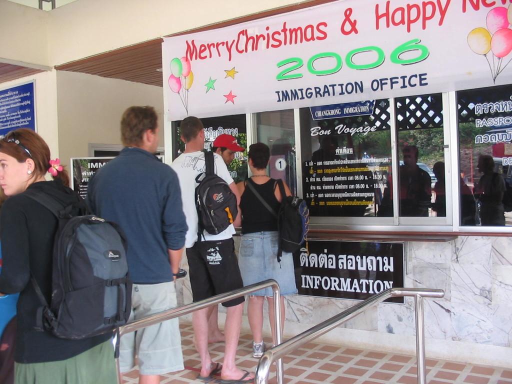 Chiang Kong Huay Xai Immigration Office